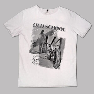 T-shirt Old surf and motorcycle - Uomo